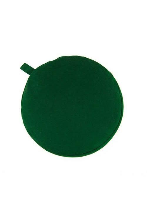 Yogisha Meditatiekussen 5cm hoog - Groen