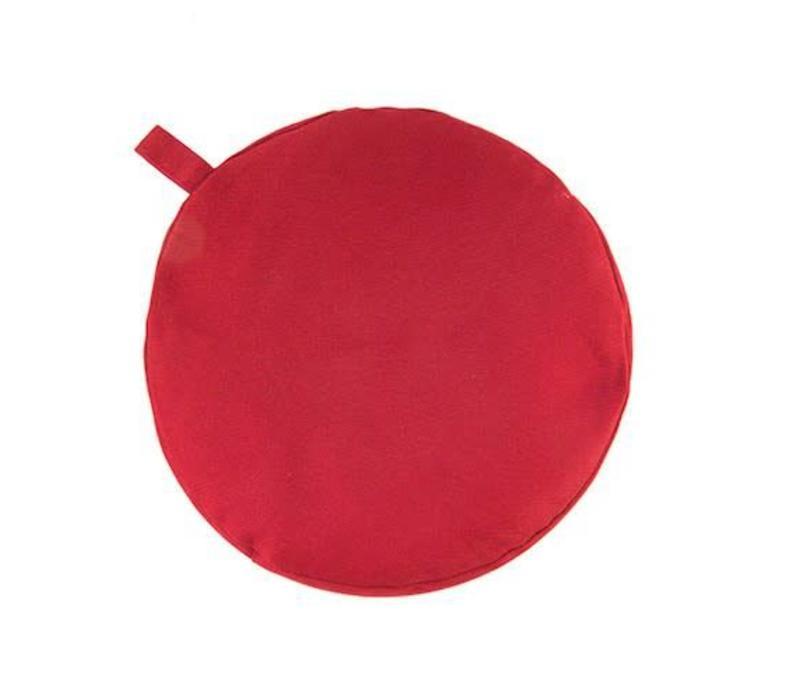 Meditatiekussen 5cm hoog - Rood