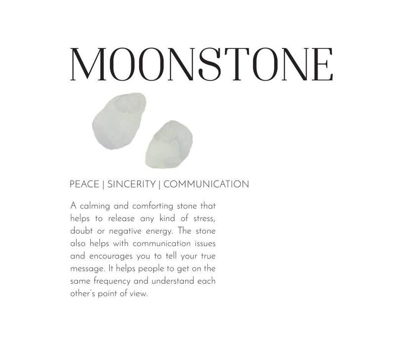 A Beautiful Story Easy Moonstone Necklace