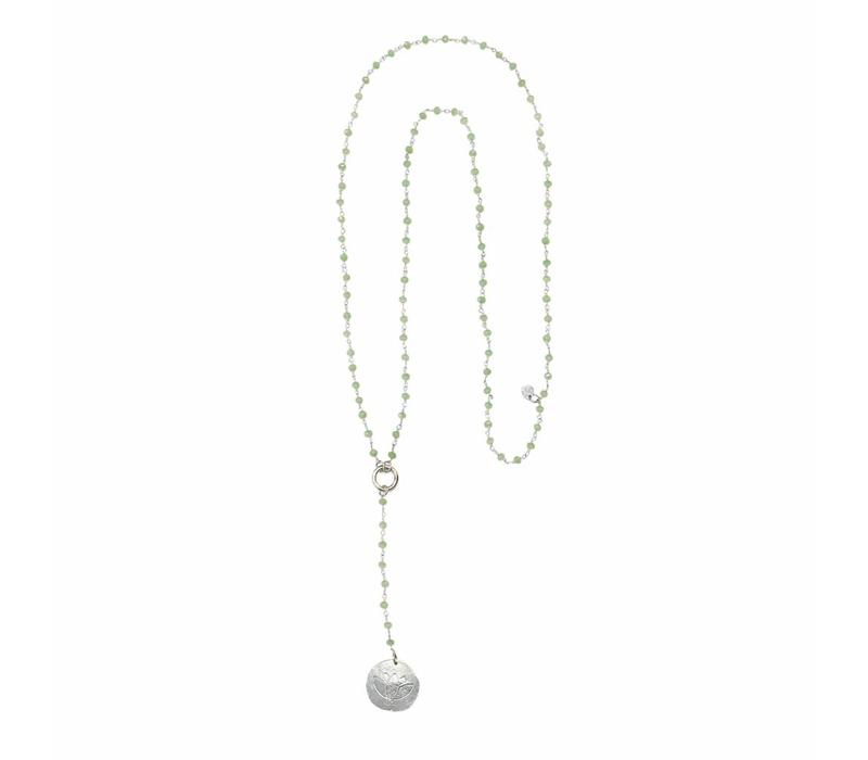 A Beautiful Story Rosary Lange Ketting - Groen