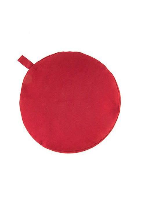 Yogisha Meditatiekussen 13cm hoog - Rood