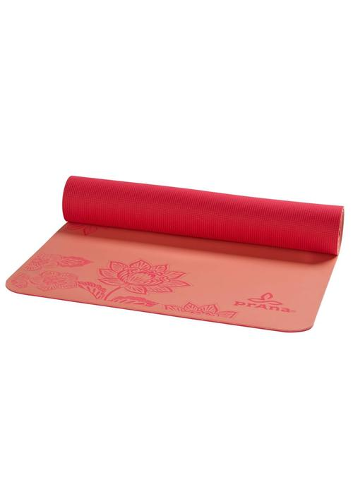 PrAna PrAna E.C.O. Henna Yoga Mat - Summer Peach