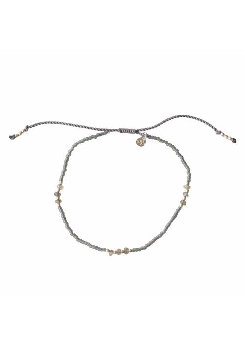 A Beautiful Story A Beautiful Story Sun Kissed Labradorite Anklet