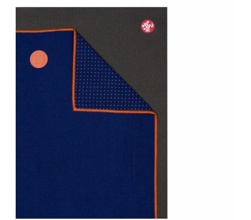 Yogitoes Yoga Towel 182cm 61cm - Chakra Blue