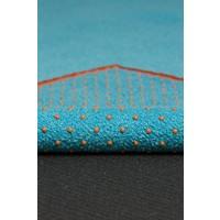 Yogitoes Yoga Towel 182cm 61cm - Chakra Turquoise