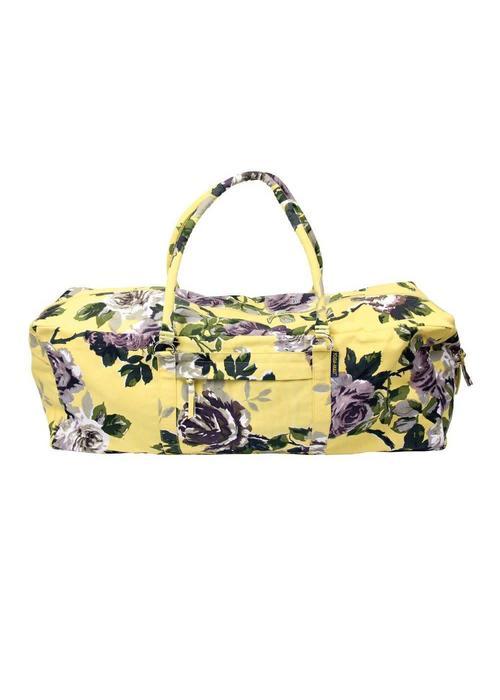 Yogamad Yogatas Kit Bag - Floral Yellow