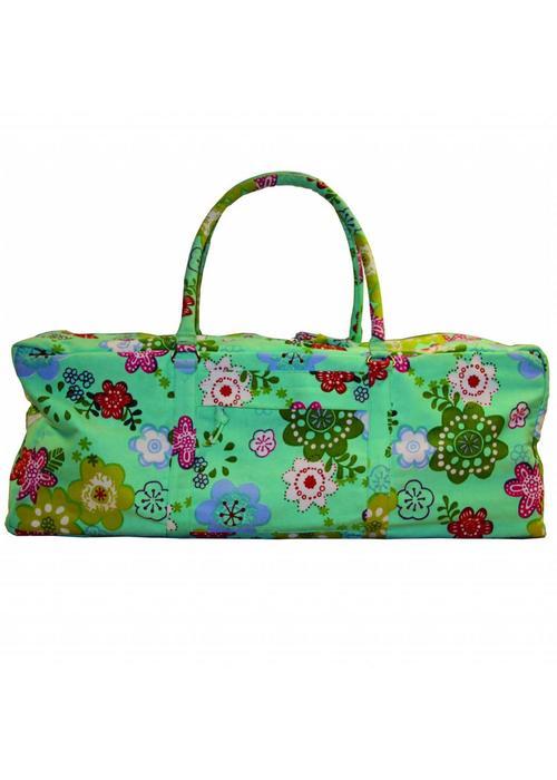 Yogamad Yogatas Kit Bag - Flower Power