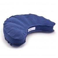 Meditation Cushion Inflatable Half Moon - Blue