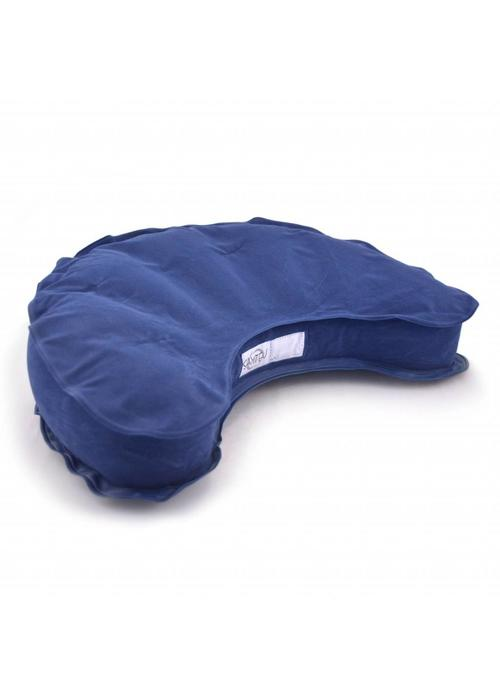 Samten Meditation Cushion Inflatable Half Moon - Blue