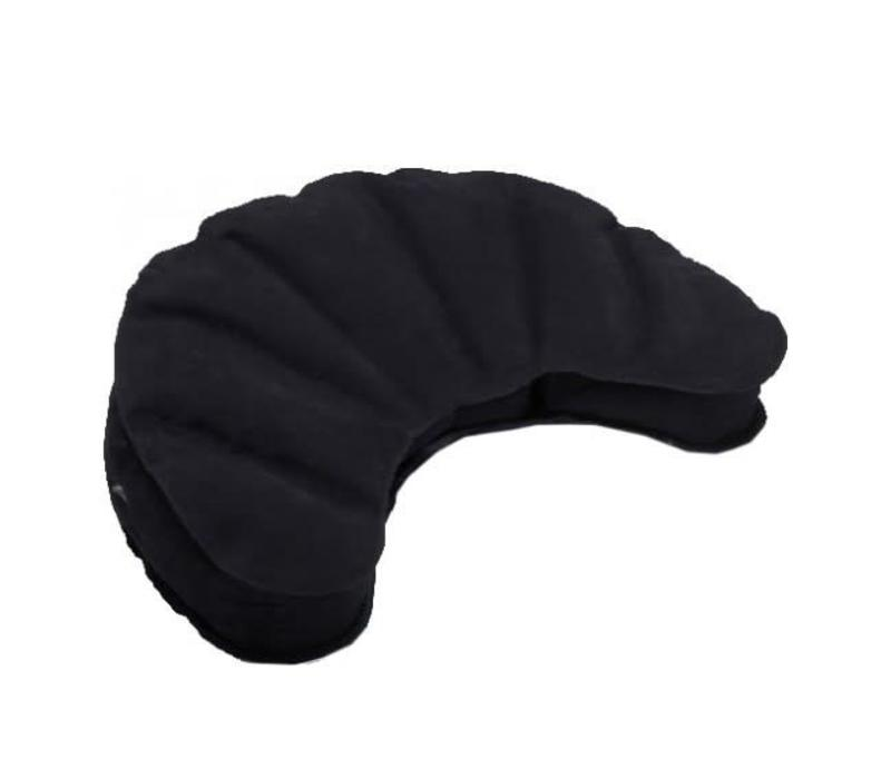 Meditation Cushion Inflatable Half Moon - Black