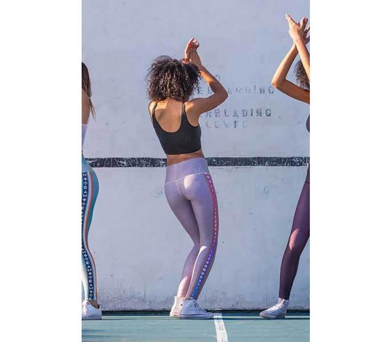 Teeki Yoga Legging - Rainbow Moon