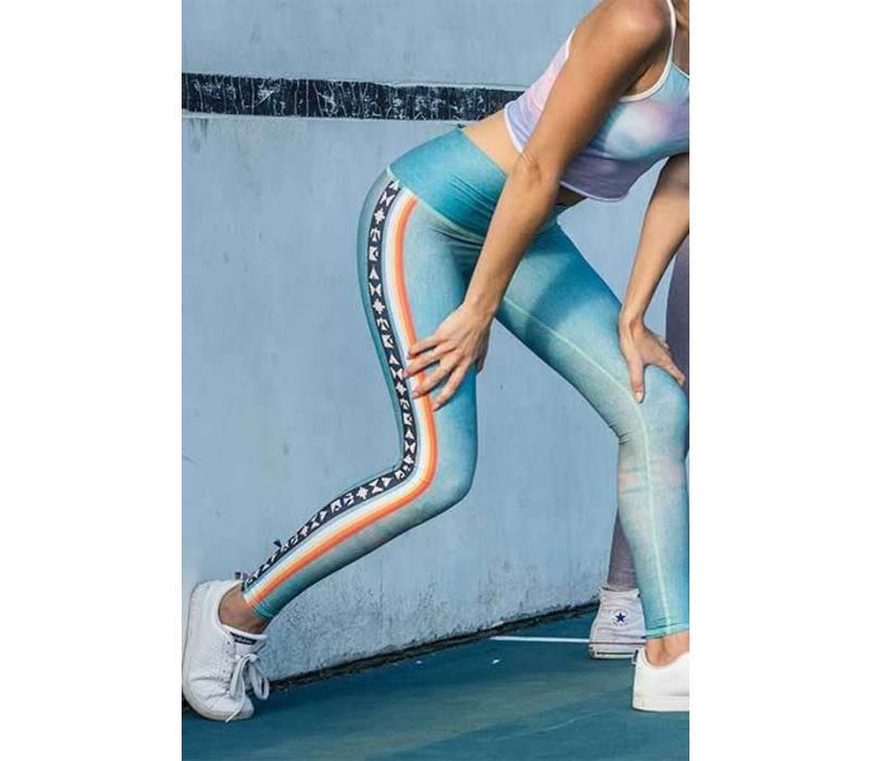 Teeki Yoga Legging - Palm Springs