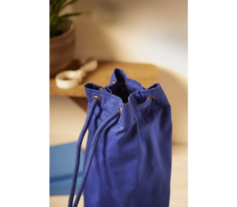 Drawstring Yoga Mat Bag - Purple