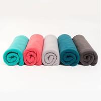 Yoga Blanket Fleece - Charcoal