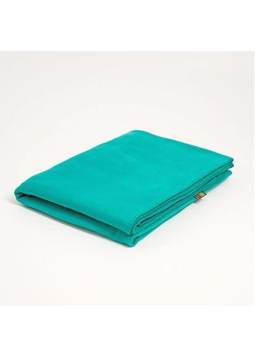 Yogamatters Yoga Blanket Fleece - Turquoise