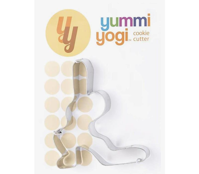 Yoga Cookie Cutter - Crescent Lunge