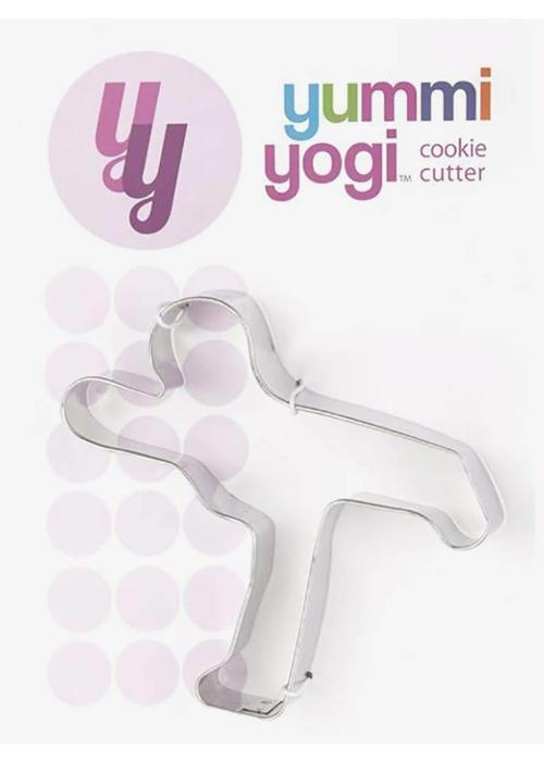 Yummi Yogi Yoga Cookie Cutter - Warrior 3