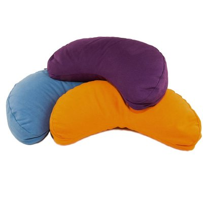 Half moon meditation cushion