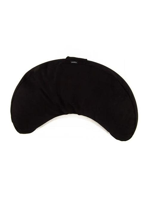 Yogisha Meditation Cushion Half Moon - Black