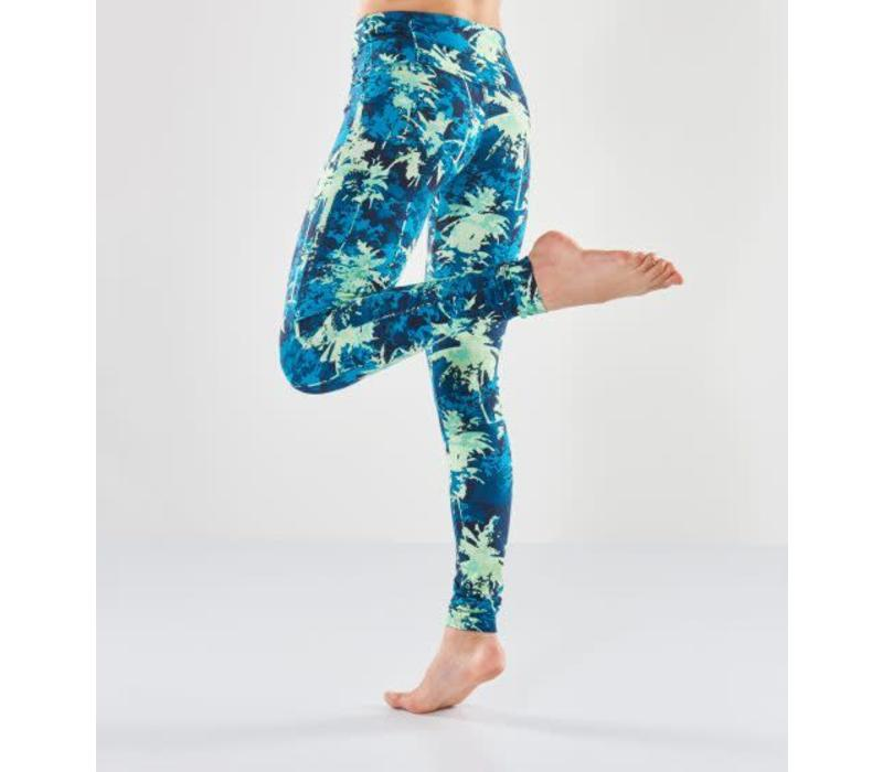 Urban Goddess Satya Yoga Leggings - Emerald