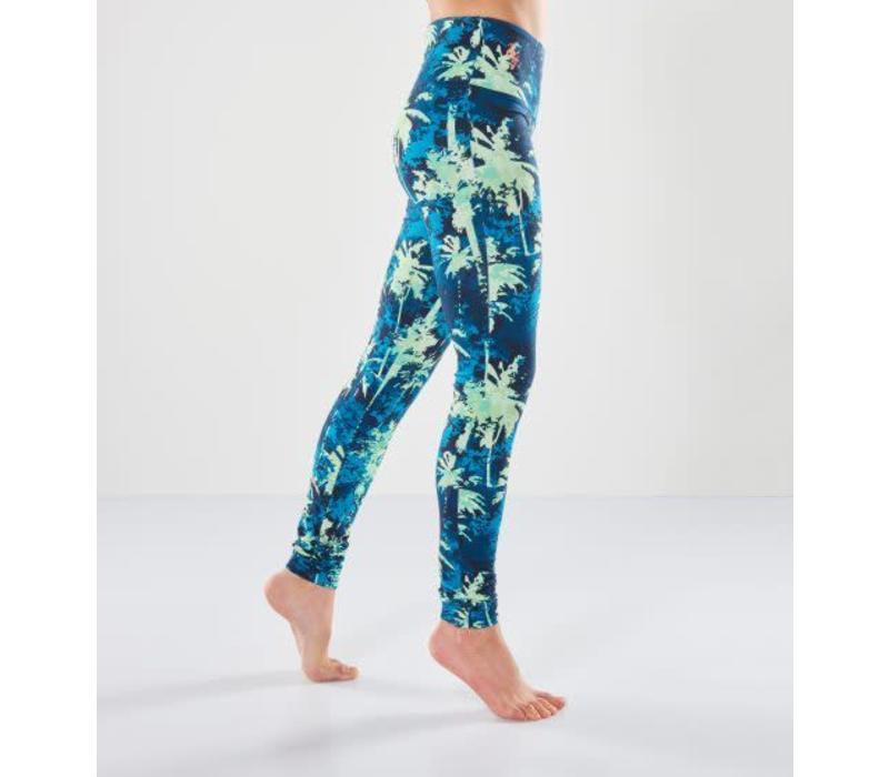 Urban Goddess Satya Yoga Legging - Emerald