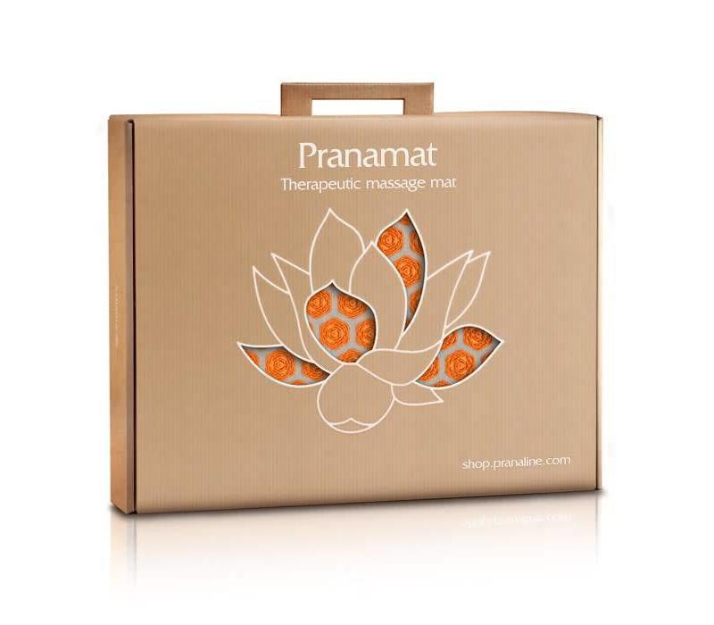 Pranamat Eco Mini - Natural/Orange