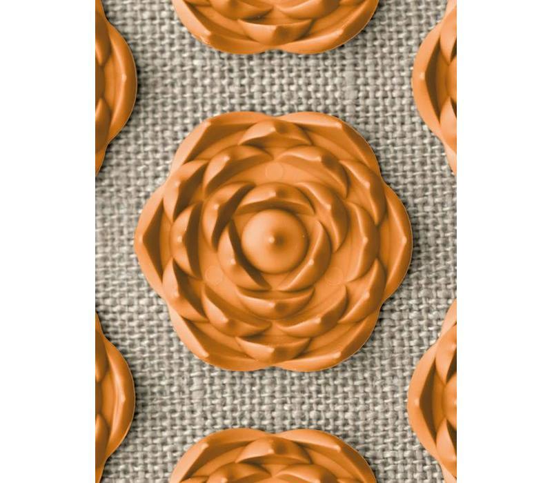 Prana Pillow - Natural/Orange