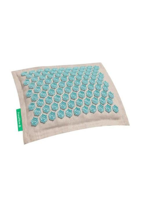 Pranamat Prana Pillow - Natural/Turquoise
