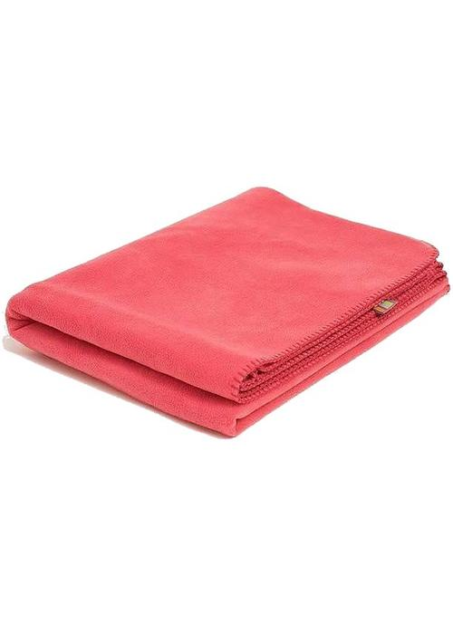 Yogamatters Yoga Blanket Fleece - Grapefruit