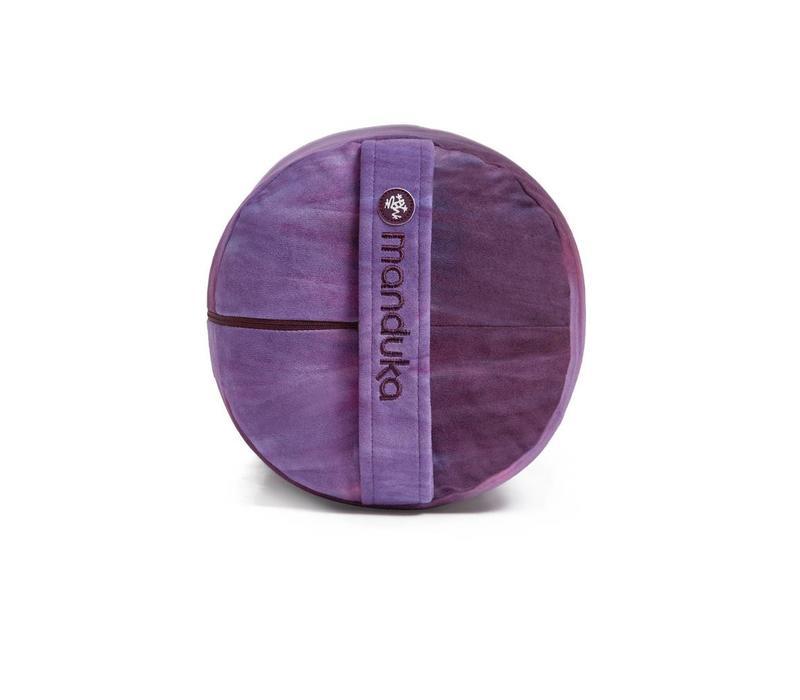 Manduka Yoga Bolster Round - Indulge Hand Dye