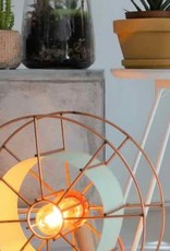 Staande lamp koperdraad