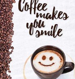 Boeken - Coffee makes you smile