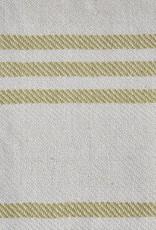 Deken - geel gestreept