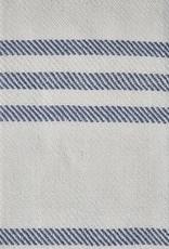 Deken - blauw gestreept
