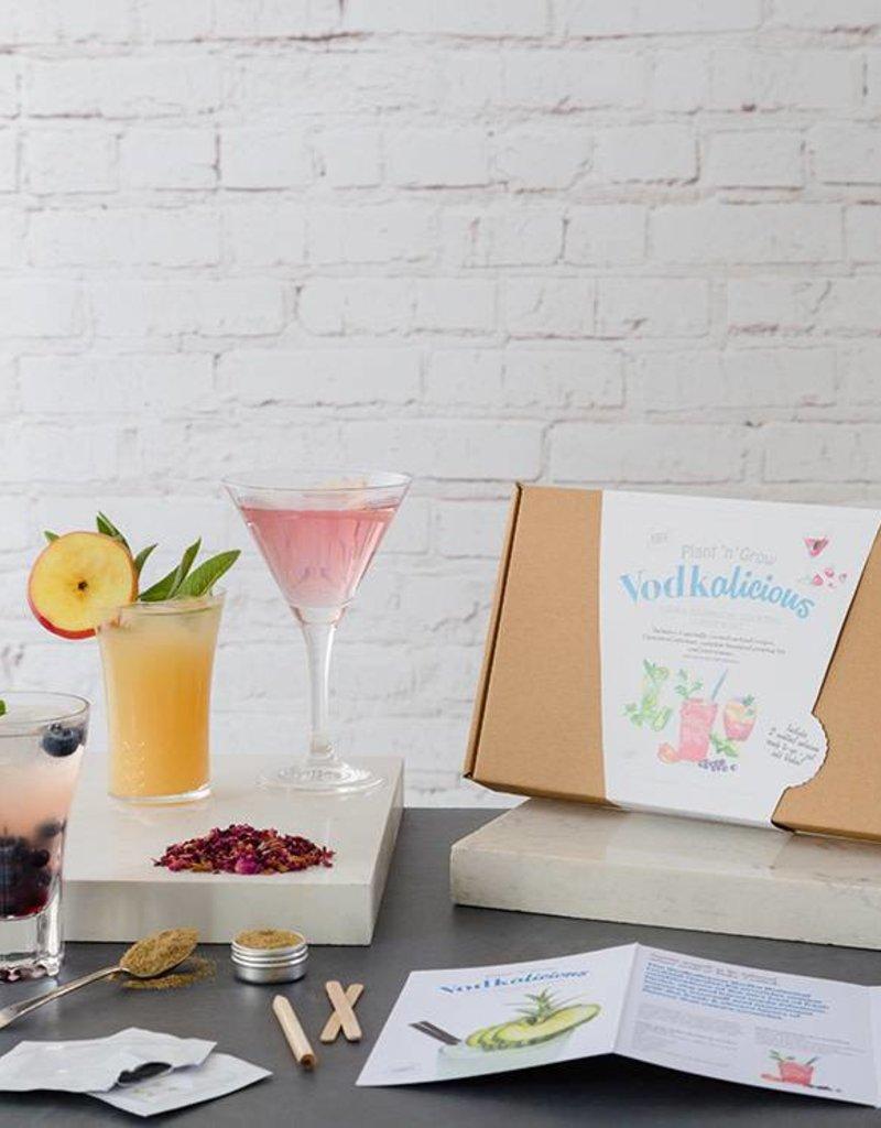 Plant 'n Grow Botanical Cocktail Kit - Vodkalicious