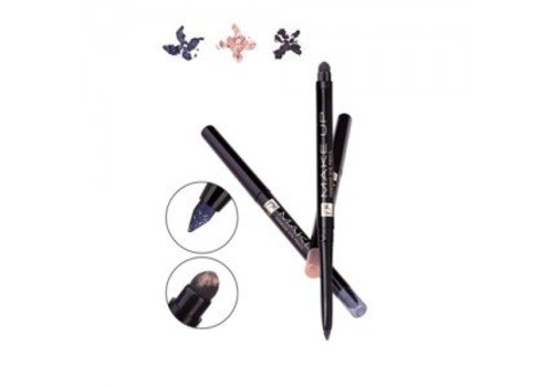 FM FM Automatic Diamond eyeliner  Chrystal Black WP
