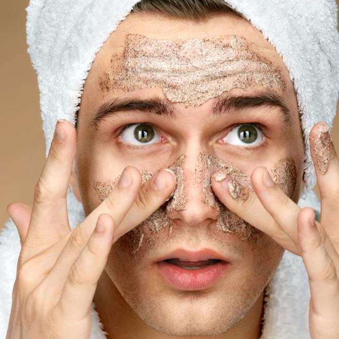 Peeling / gezichtsscrub