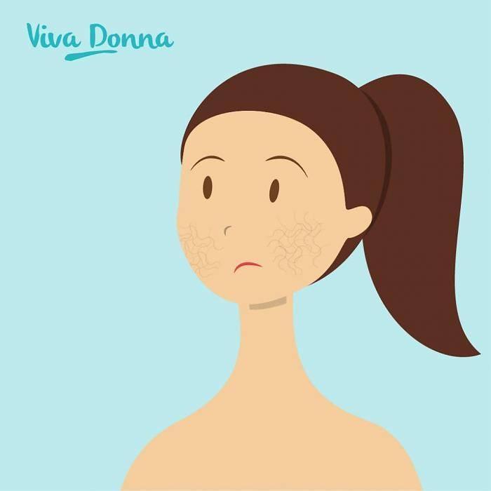 Huidverbetering van Doffe Vermoeide huid