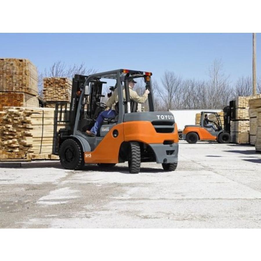 Diesel Heftruck huren 4.0 ton