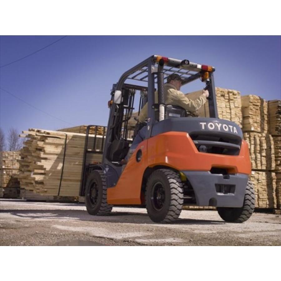 Diesel Heftruck huren 4.5 ton