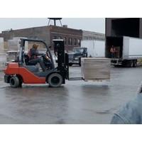 LPG Heftruck huren 3.5 ton