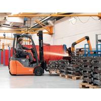 Elektrische Heftruck huren 1.5 ton 3-wiel