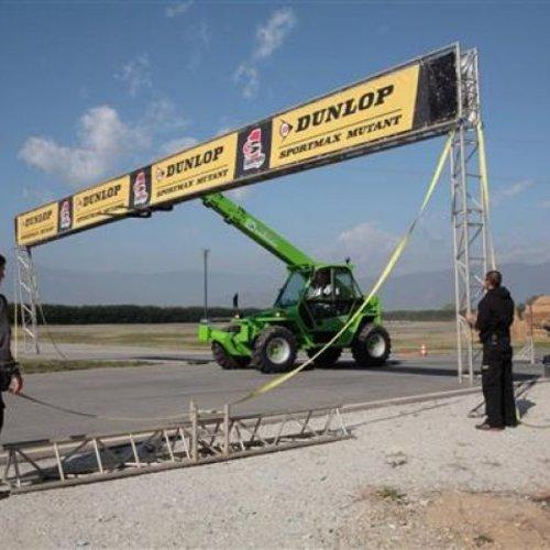 Starre verreiker 3.8 ton en 13.0 meter bereik