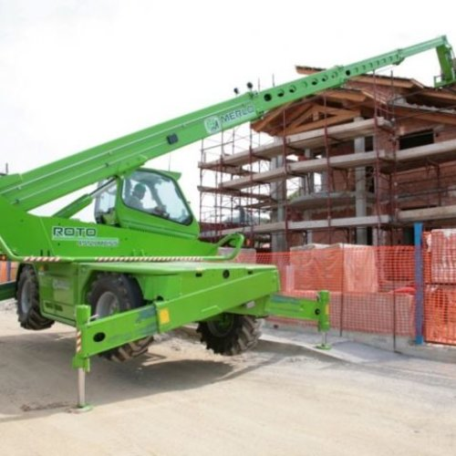 Roterende verreiker 4.5 ton en 21.8 meter bereik