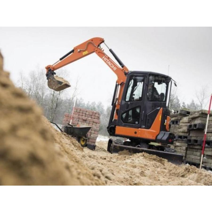 Minigraver 3.5 ton