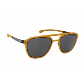 > IC! Berlin Sunglasses IC! Berlin La Yup - Mustard Black - 50-21