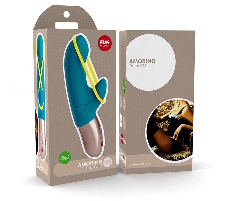Fun Factory Amorino oplaadbare kleine vibrator - 17.5 x 2.7 cm