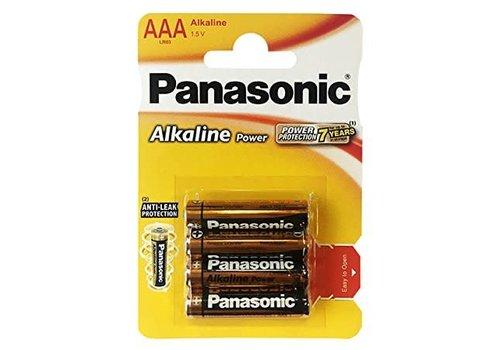 Panasonic AAA-batterijen 4 stuks