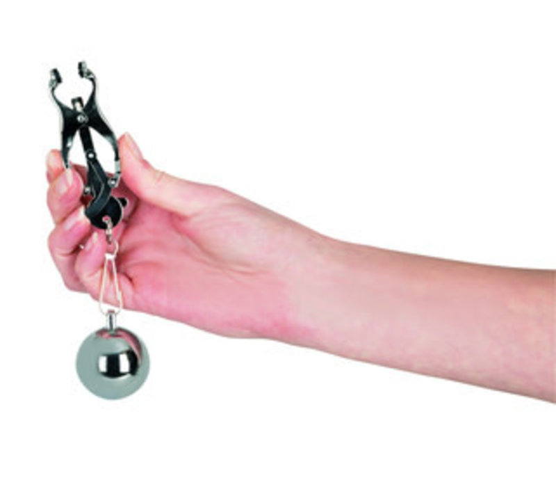 Nipple clamps with very heavy weights