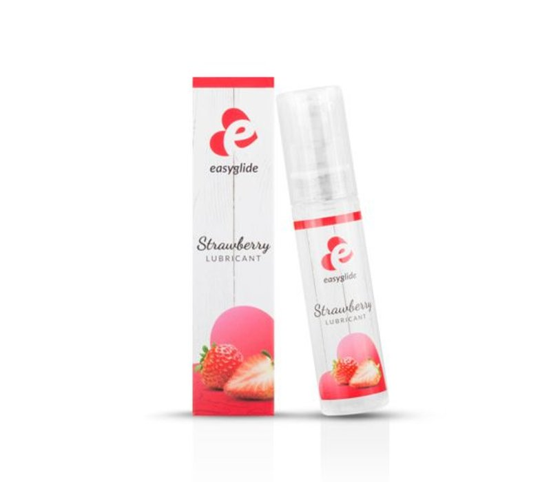 Easy Glide Lubricant with strawberry flavor - 30 ml